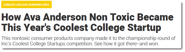 Coolest College Startup