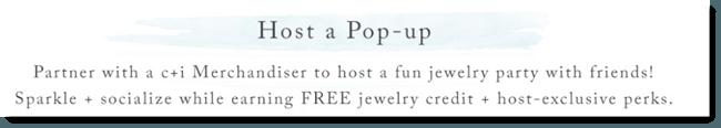 Host a Popup