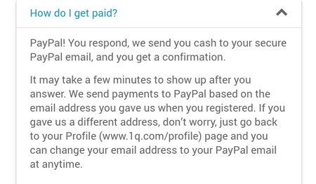 How Do You Get Paid In 1Q