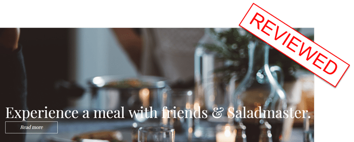 Make Money with Saladmaster