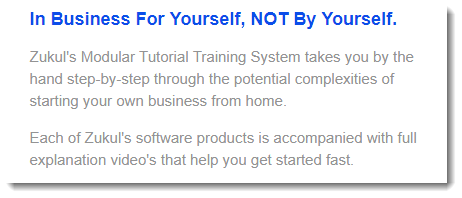 Modular Training System