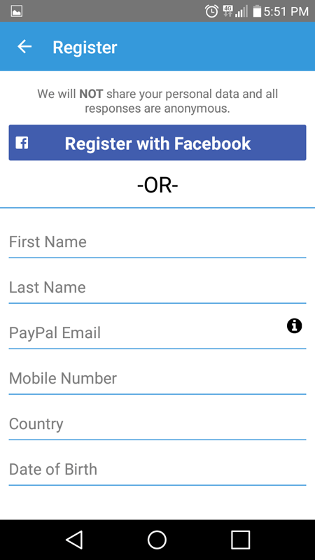 Registering With 1Q