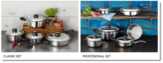 Saladmaster Product Selection