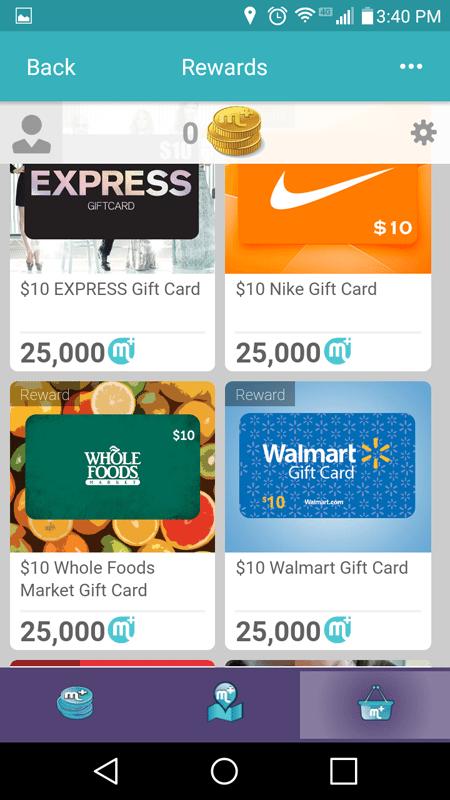 mPlus Places Rewards