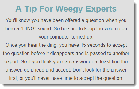 A Tip For Experts