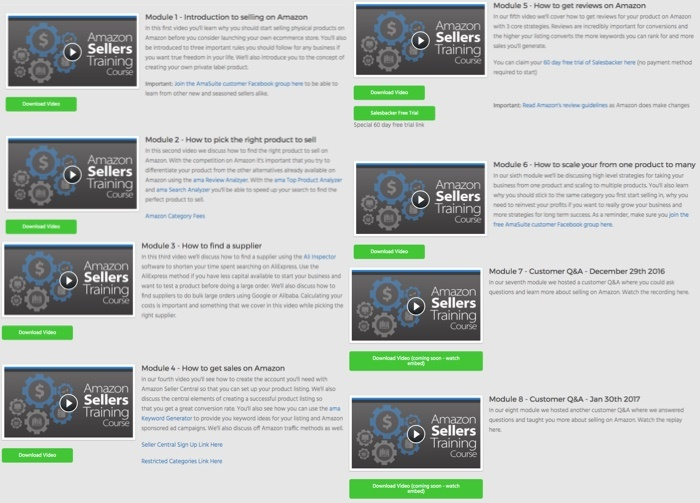 AmaSuite5 Modules 1-8