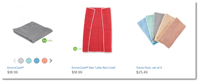 Bacteria Cloths