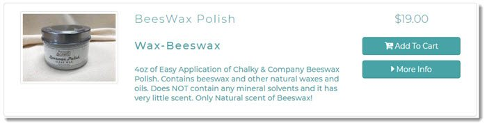 Beeswax Polish from Crafty and Company