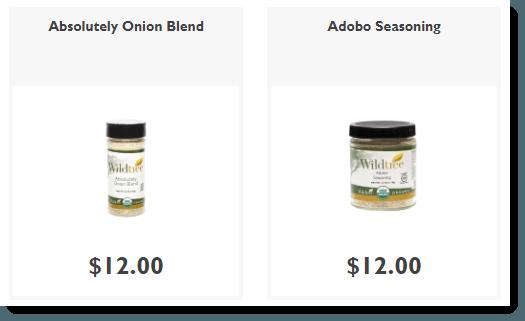 Blends and Seasonings