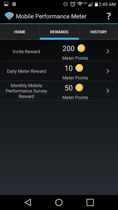 Embee Mobile Performance Meter App Rewards