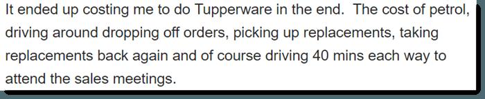 Failure at Tupperware