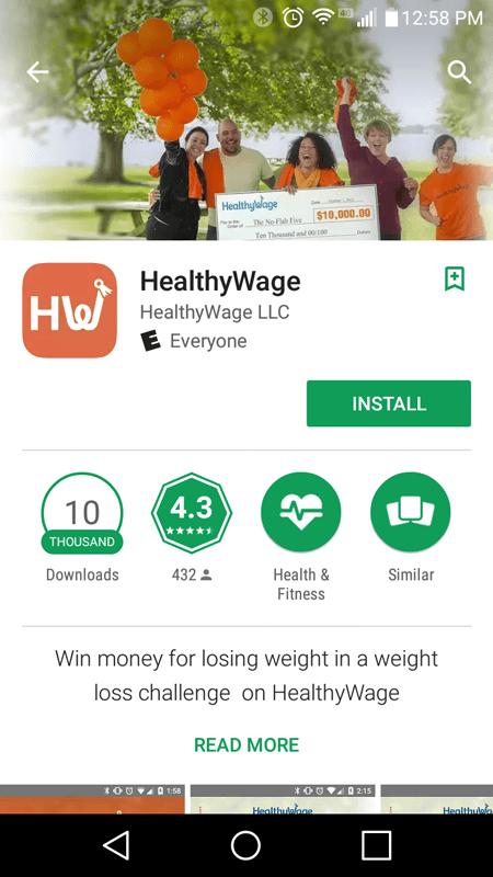 HealthyWage Basic Info
