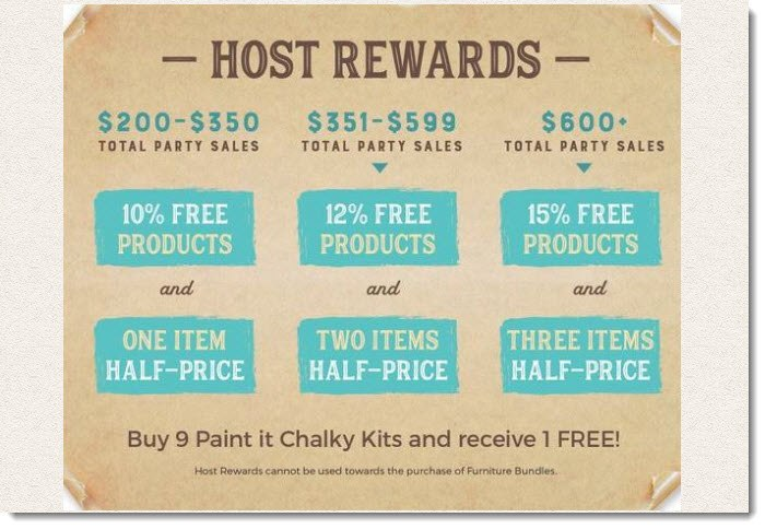 Host Rewards from Chalky & Company
