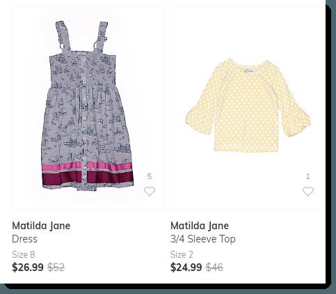 Second Hand Matilda Jane