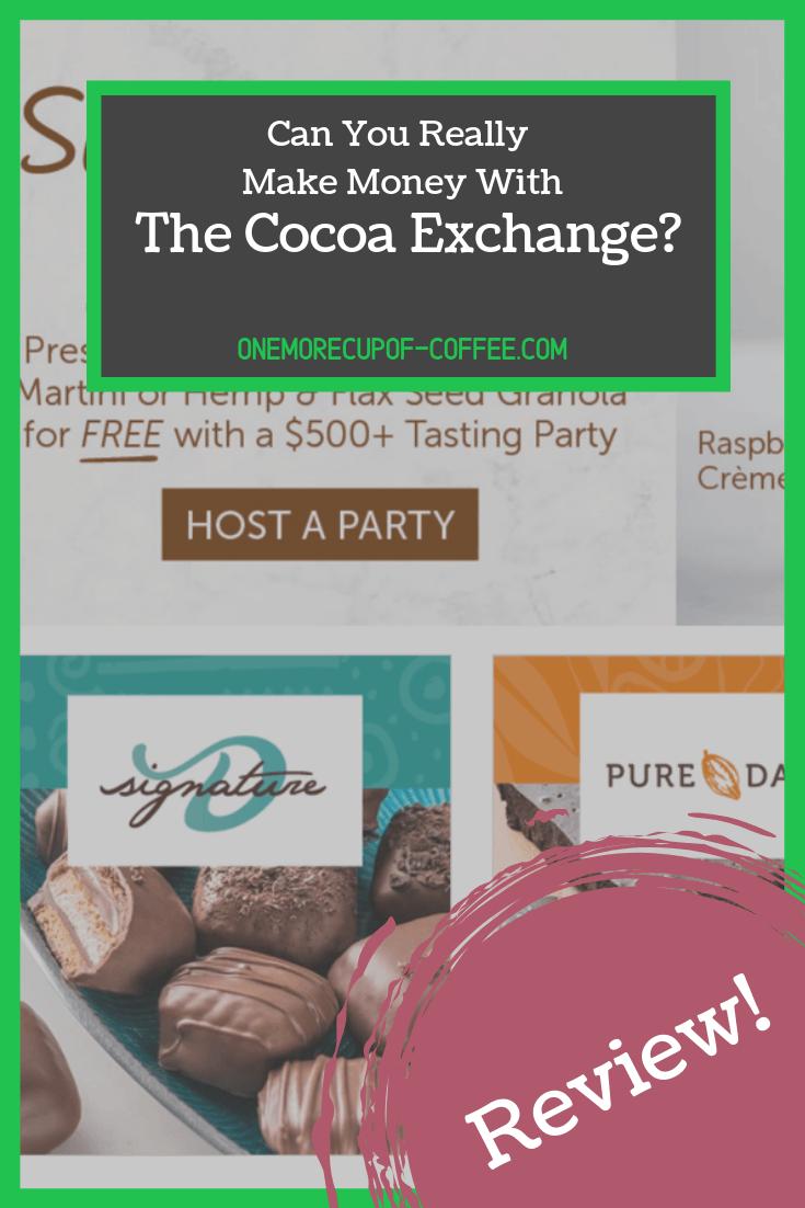 make money cocoa exchange
