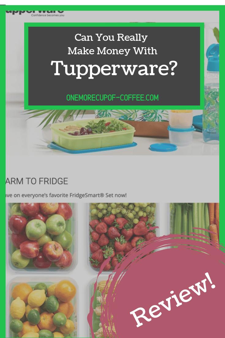 make money tupperware