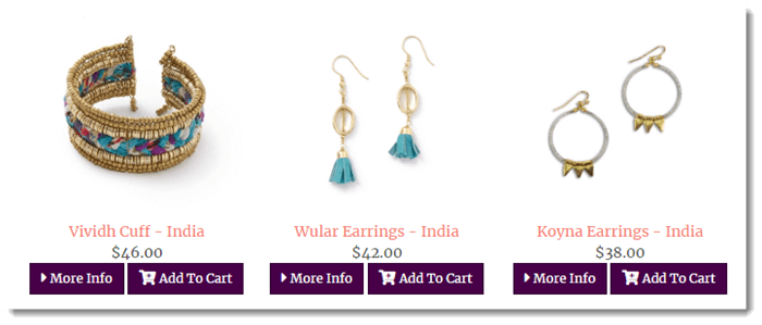 Indian Products from Threads Worldwide
