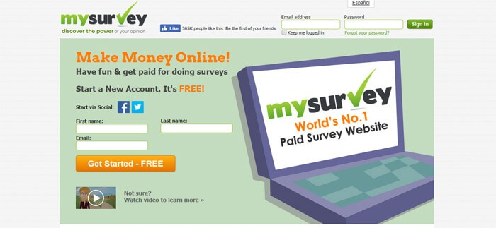 Make Money Mysurvey