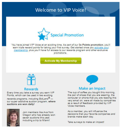 VIP Voice Verification Email