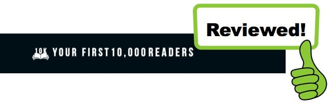 your first 10,000 readers review