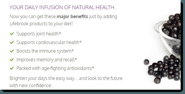 Lifebrook Benefits