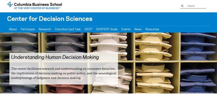 Make Money Center For Decision Sciences