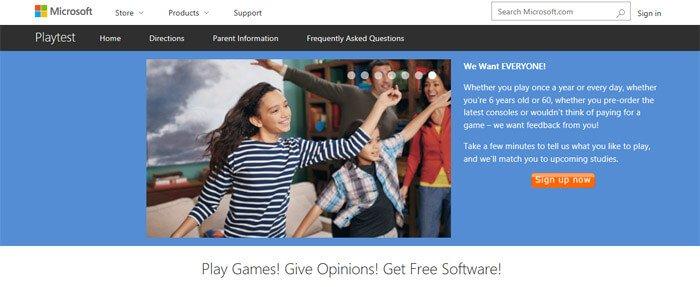 Make Money Microsoft Playtest