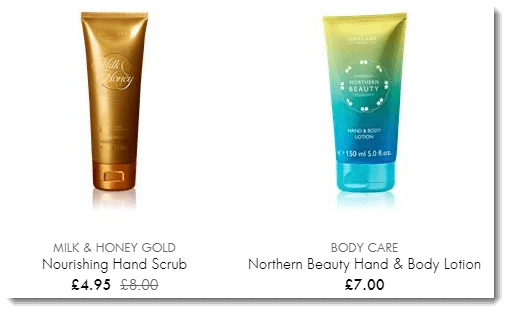 Oriflame Products and Prices