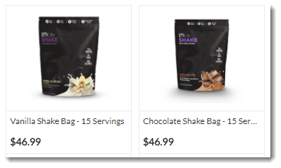 Shakes and Pricing