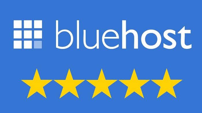 Bluehost 5 Stars