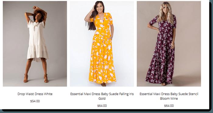 Dresses from Agnes & Dora