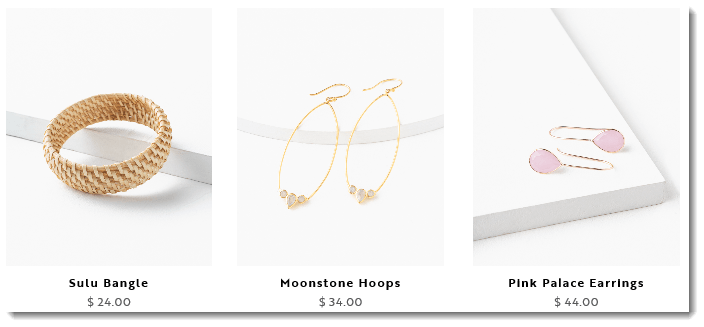 Jewelry Prices from Trades of Hope