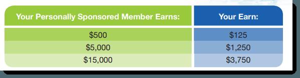 Member Bonuses
