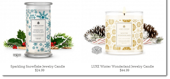 Popular Jewelry Candles