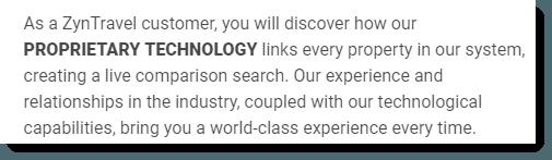Proprietary Technology