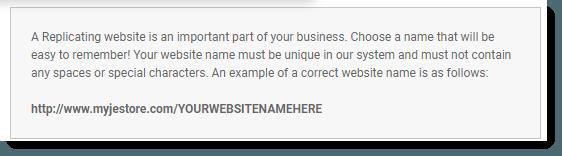 Replicating Website