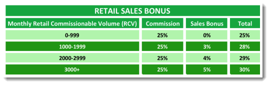 Retail Sales Bonus