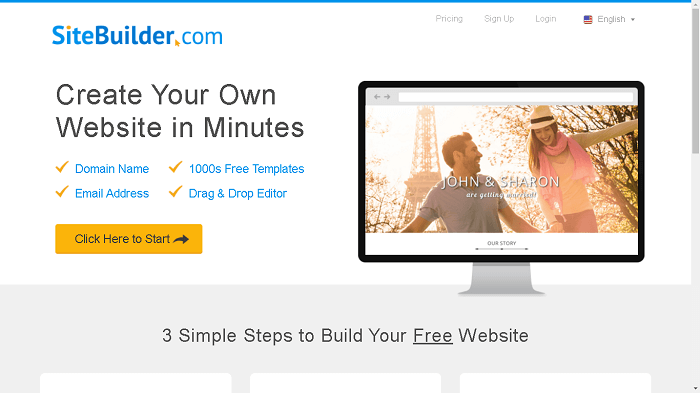 SiteBuilder Hosting Review
