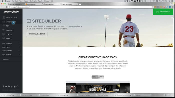 SiteGround Website Builder