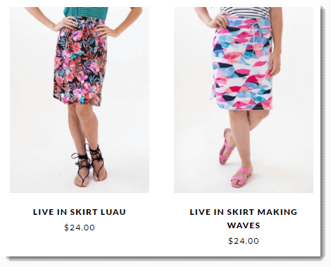 Skirt Prices