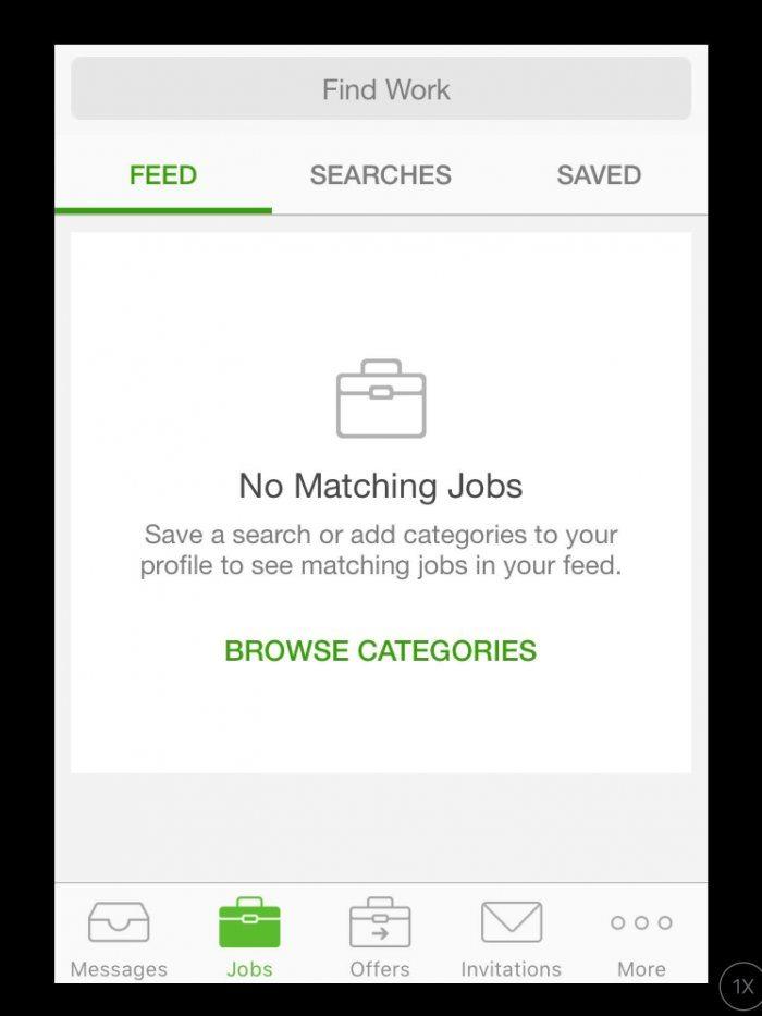Upwork Mobile App