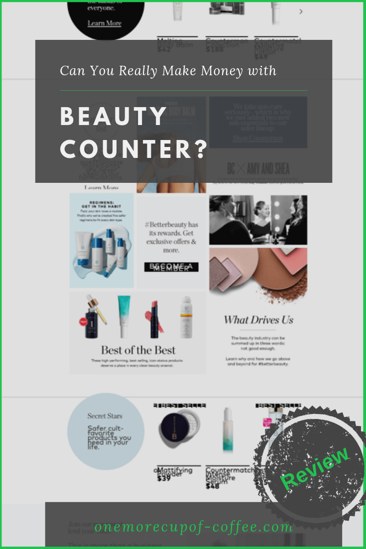 make money beauty counter