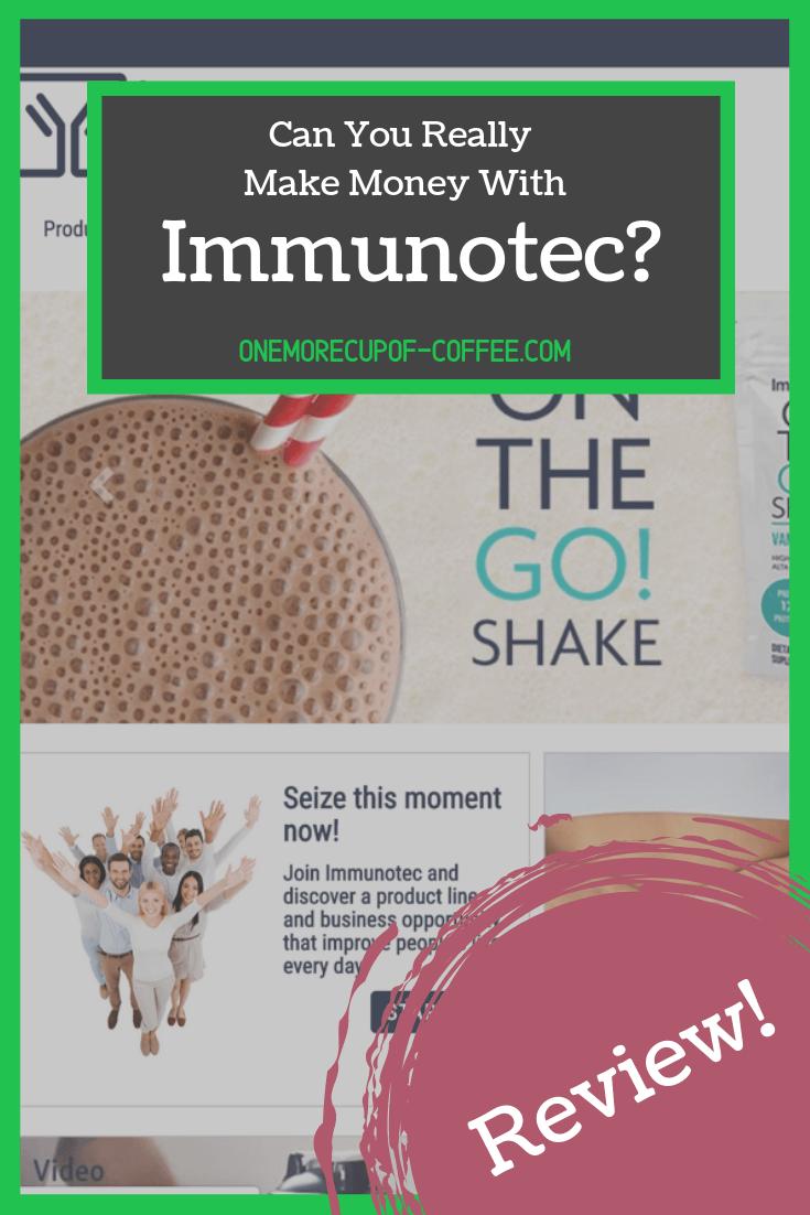 make money immunotec