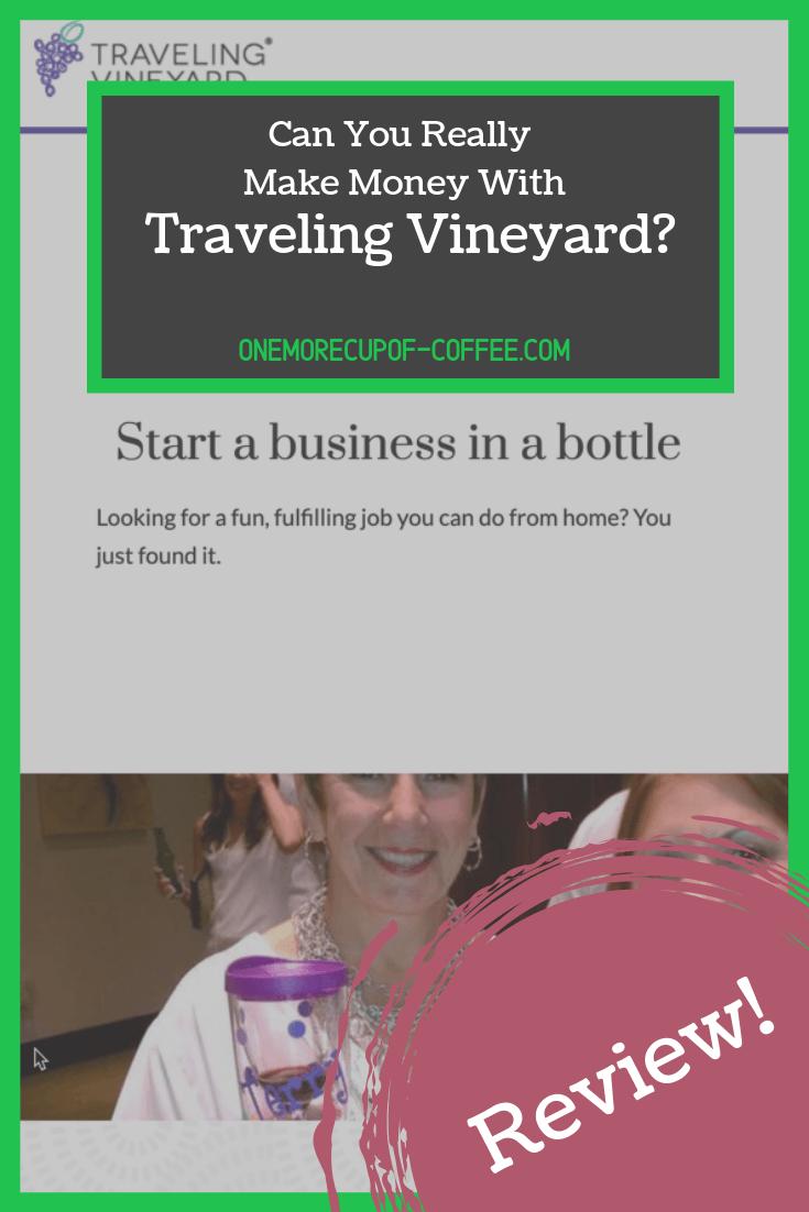 make money traveling vineyard