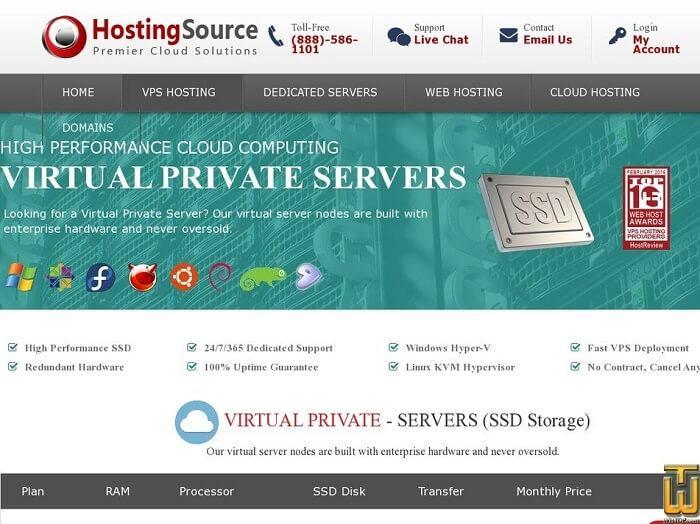 HostingSource VPS Technology