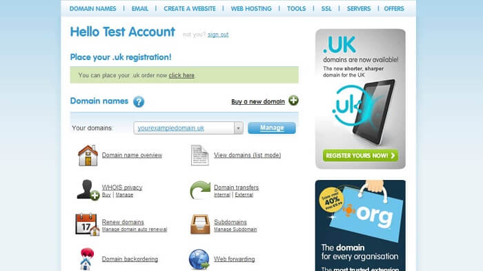 Ideal Customers for 123-Reg Hosting