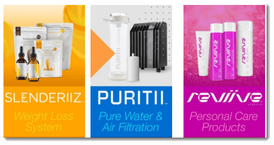 Ariix Product Ranges
