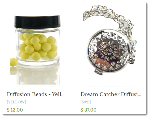 Diffusion Beads