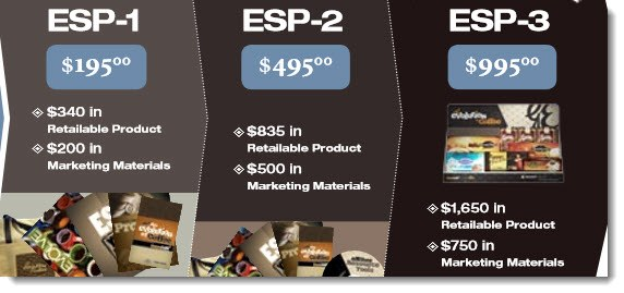 ESP Packs