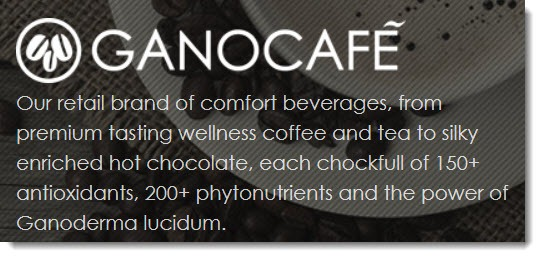 A description of the GanoCafe product line